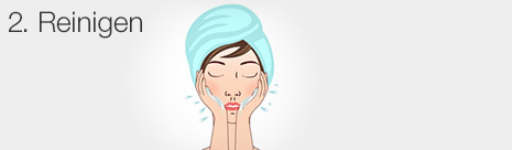 Feuchtigkeitspflege – Schritt 2: sanfte Gesichtsreinigung | Neutrogena